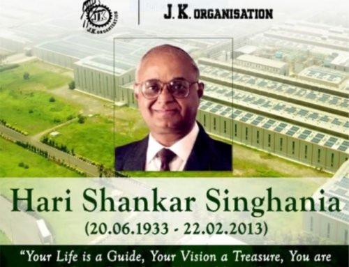 87th Birth Anniversary of Hari Shankar Singhania
